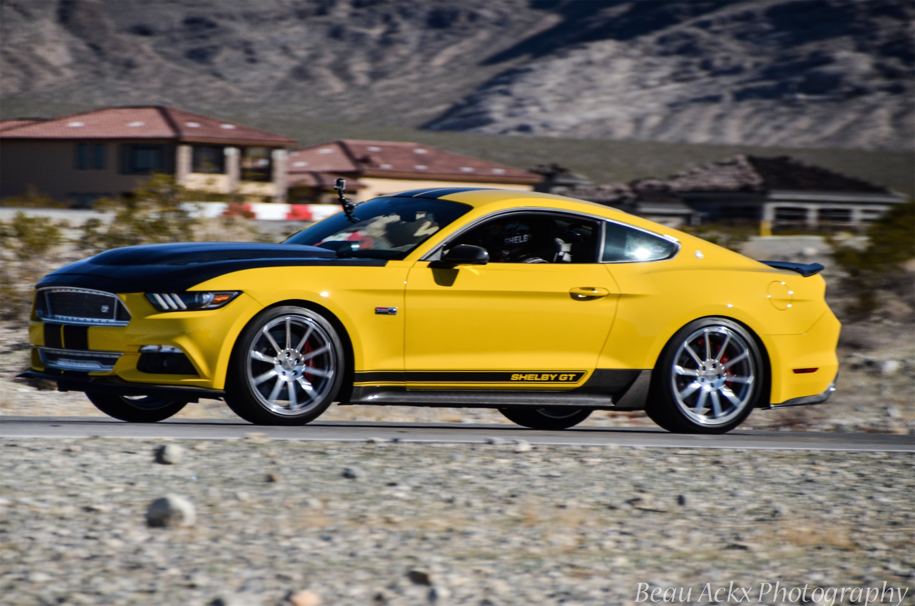 check out the newest 2015 shelby gt testing on the track. Black Bedroom Furniture Sets. Home Design Ideas