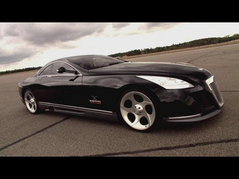 check out this one of a kind 8 million dollar maybach exelero!