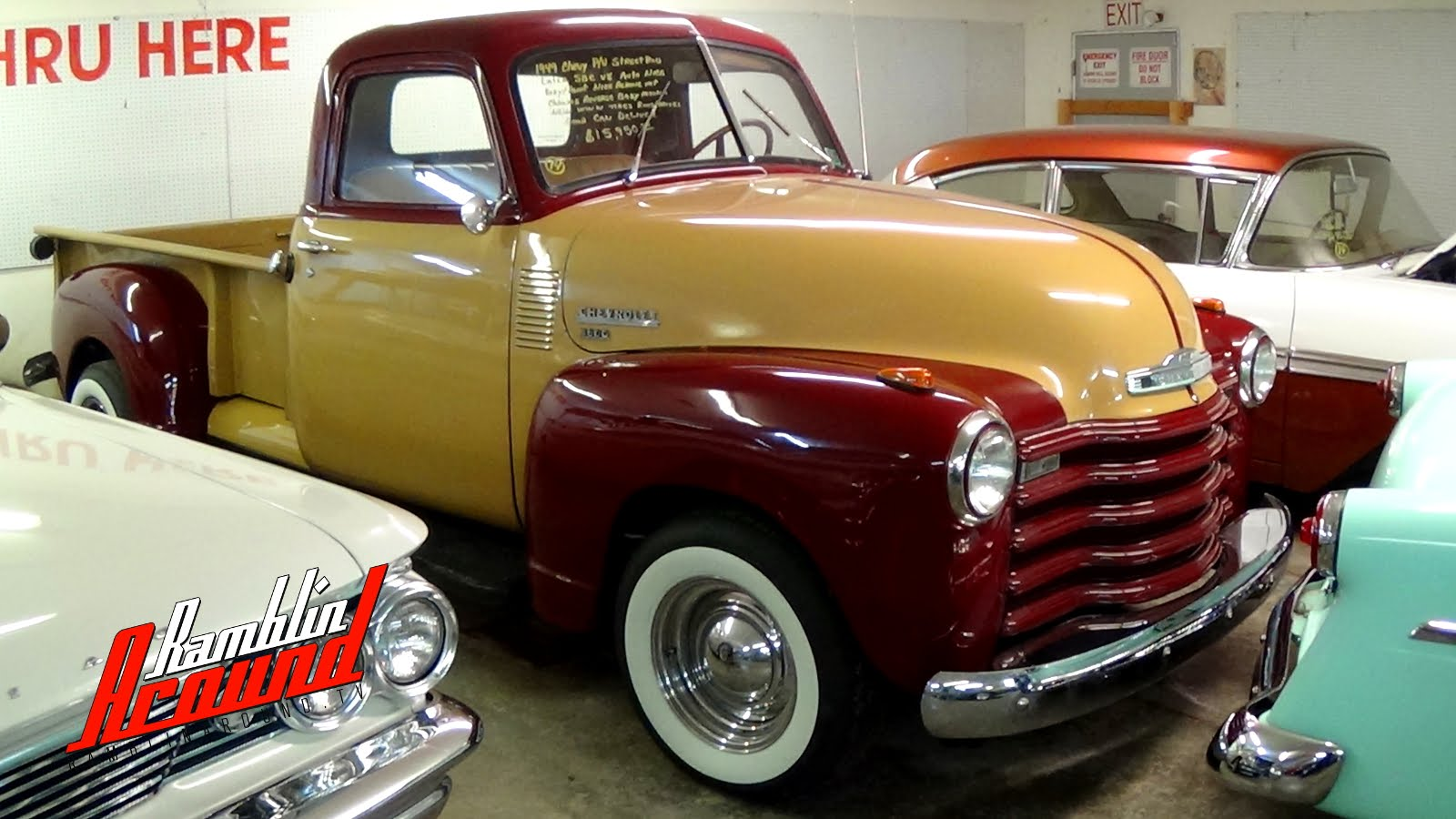 Hot Rods Archives Page 14 Of 20 Legendarylist 1951 Chevrolet Custom Rod Lets Take A Closer Look To This Cool Looking 1949
