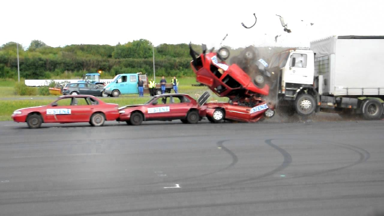 Where Do Test Crash Cars Come From