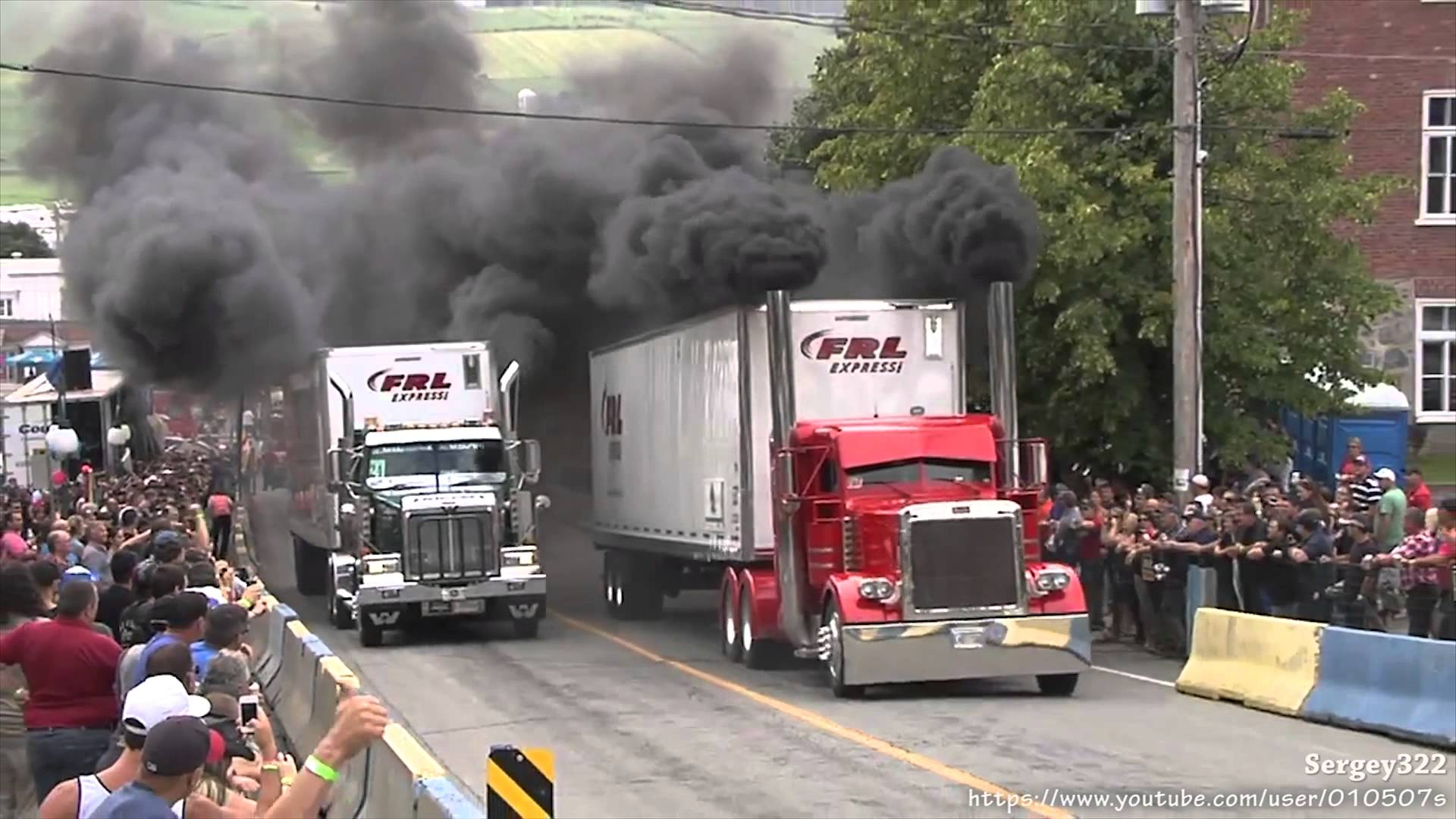 Semi Trucks Drag Racing And Rollin Coal Is As Awesome As