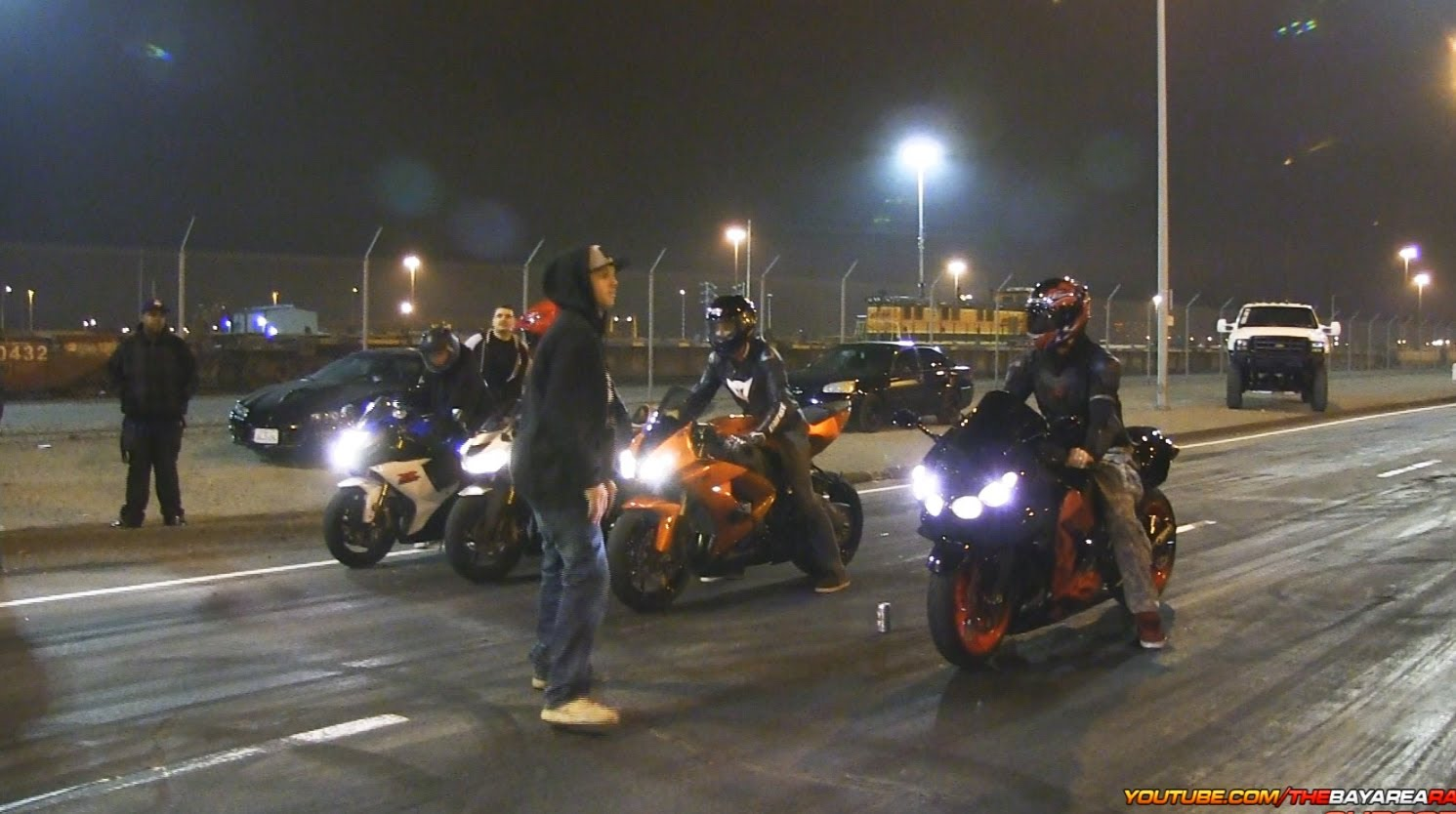 Bay Area Racing S Bike Night 30 Mins Of Pure Motorcycle Street Drag Action