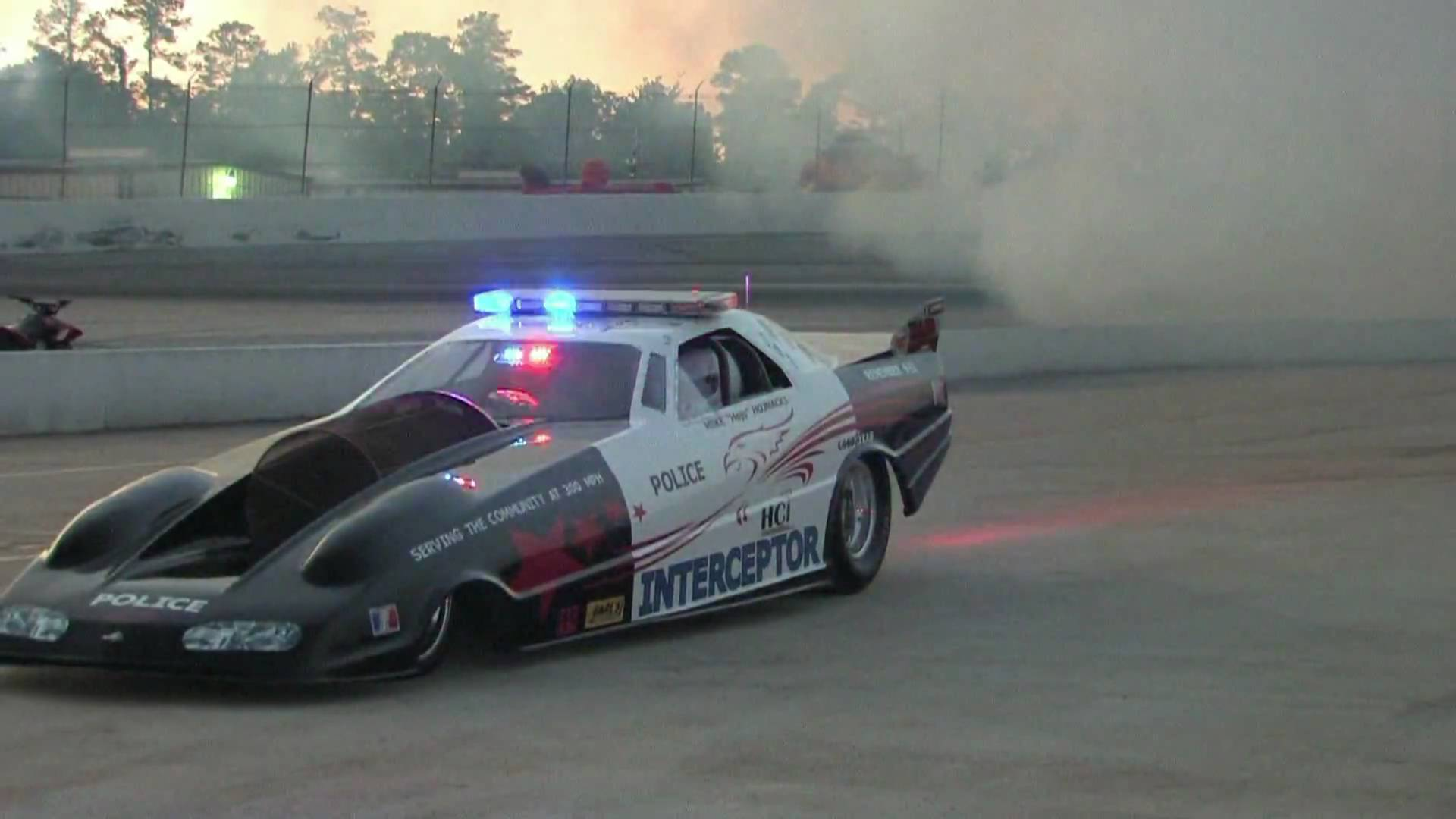 This 6000HP Jetcar's Revving And Accelerating Engine Sound Will Pour