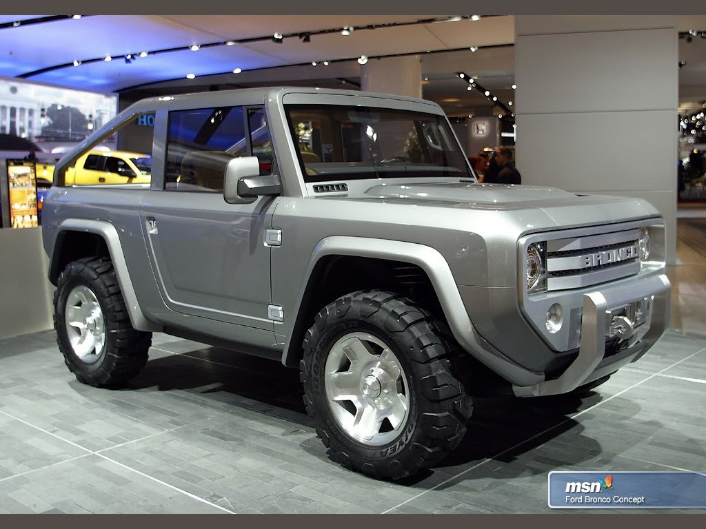 The New And Awesome 2017 Ford Bronco Concept Revealed