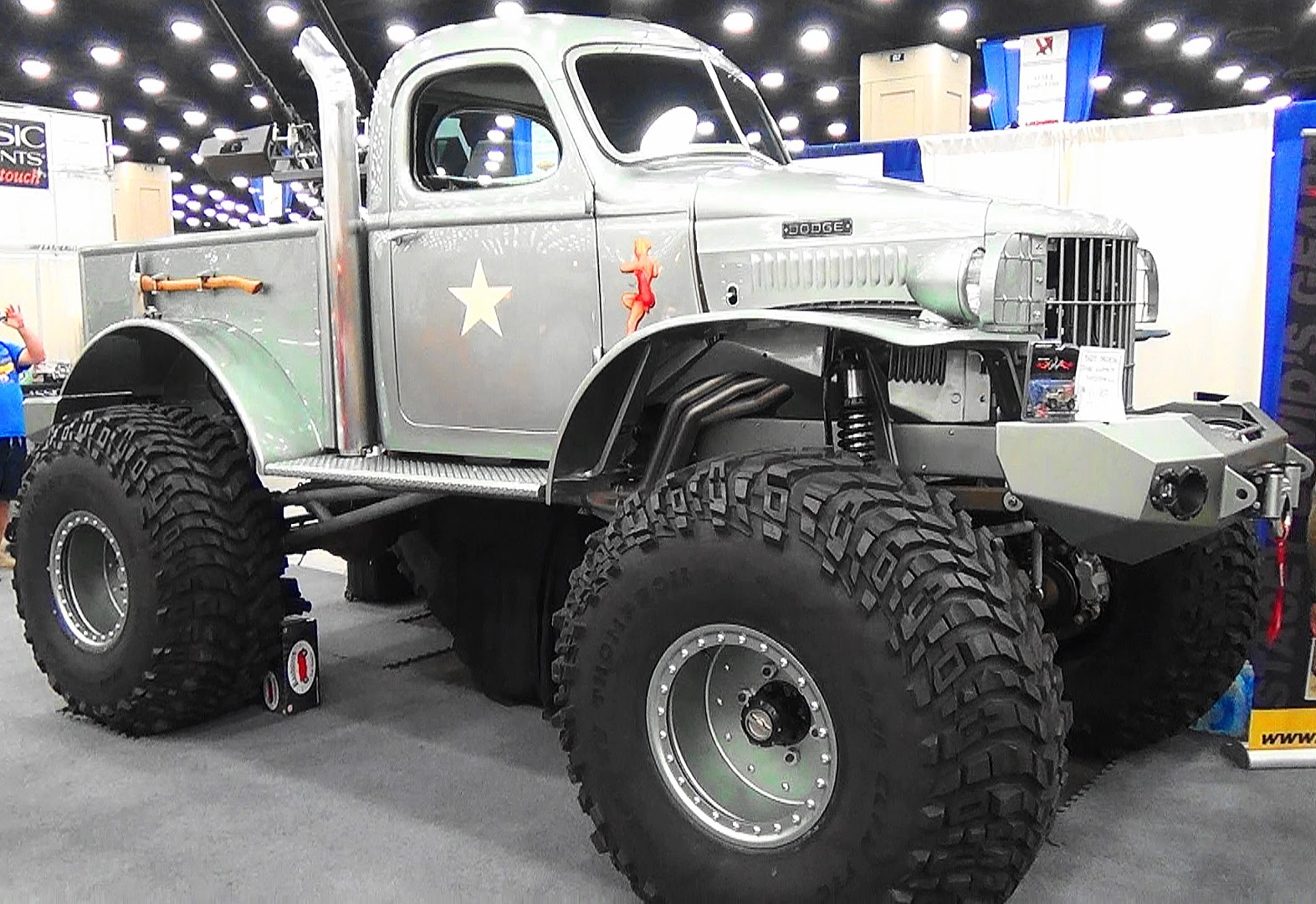 This 1941 Military 1/2 ton Dodge PickUp Truck Is A Perfect