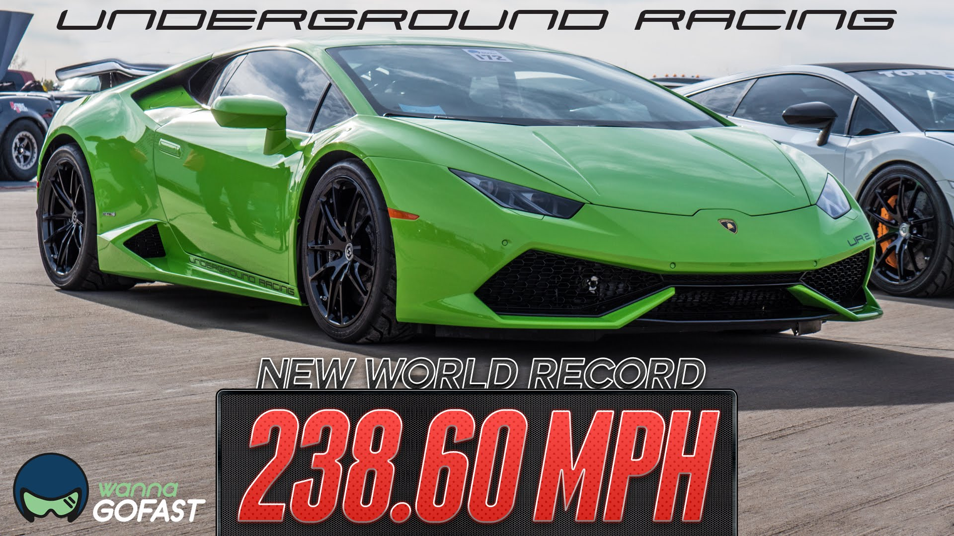 twin turbo lamborghini huracan breaks the world record at the wannagofast 1 2 mile event. Black Bedroom Furniture Sets. Home Design Ideas