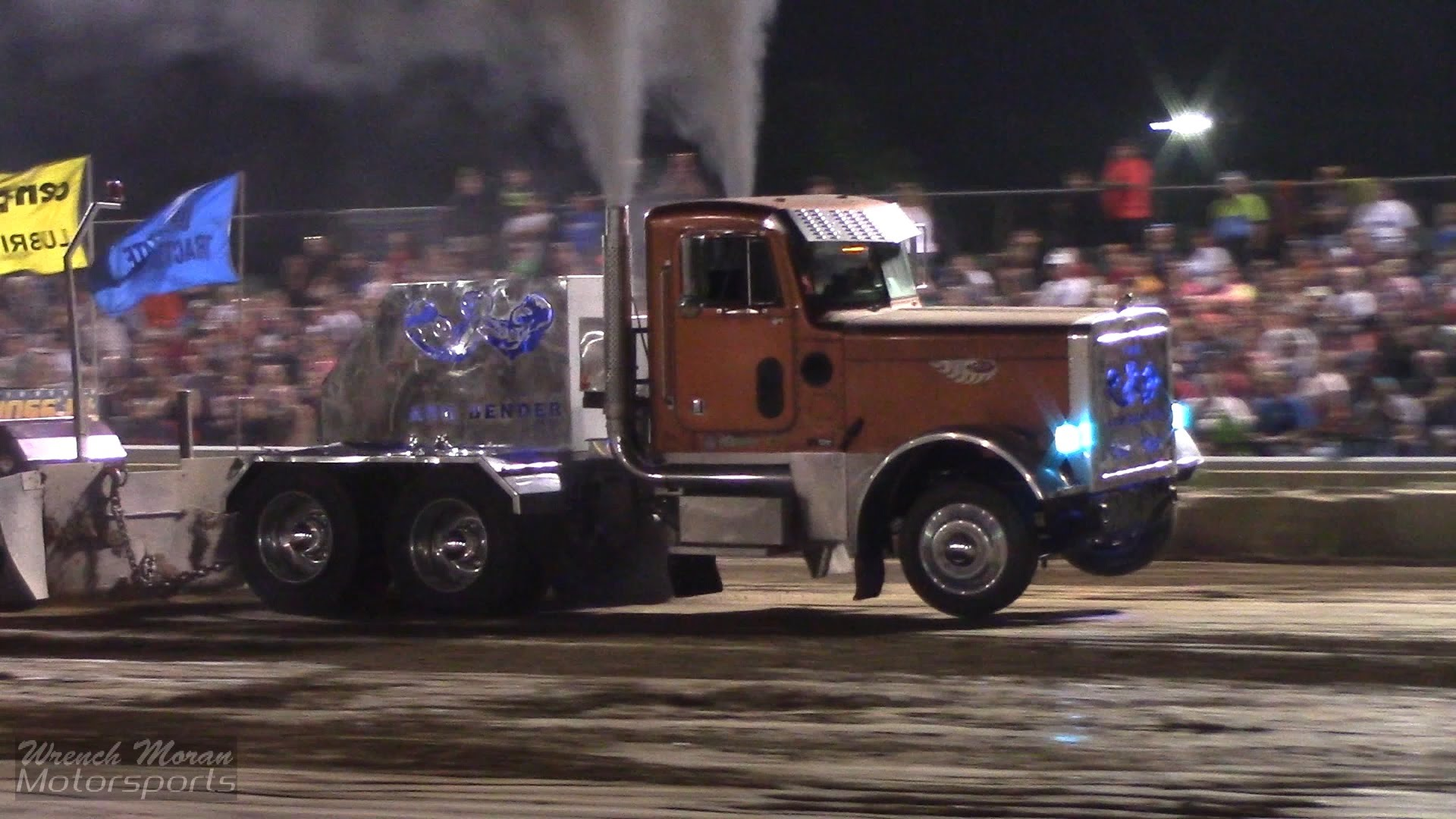 Pro Stock Pulling Trucks : The quot arm bender pro stock semi pulling truck unleashed it