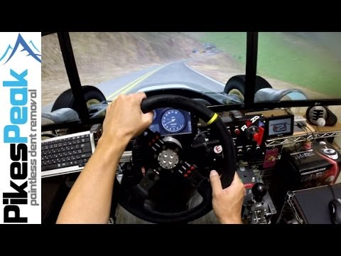 Onboard Pikes Peak Hill Climb With The Ultimate RFactor 2 Setup
