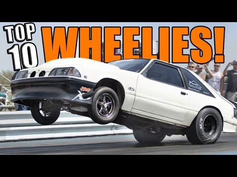Top 10 Muscle Car Dragster Drag Racing Wheelies Of All