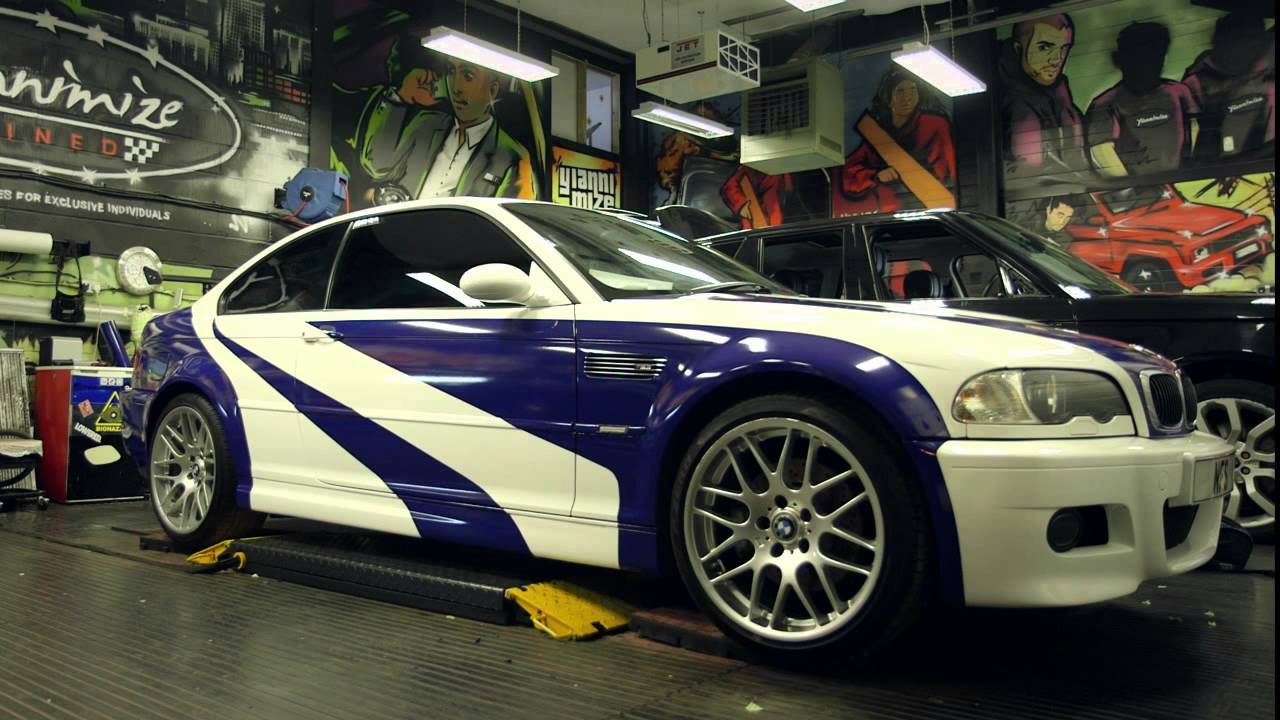 Watch How Need For Speed Bmw M3 Came To Life