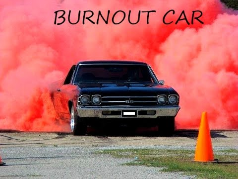 1000hp Muscle Car Burnout Compilation Is Loaded With Smoky Street