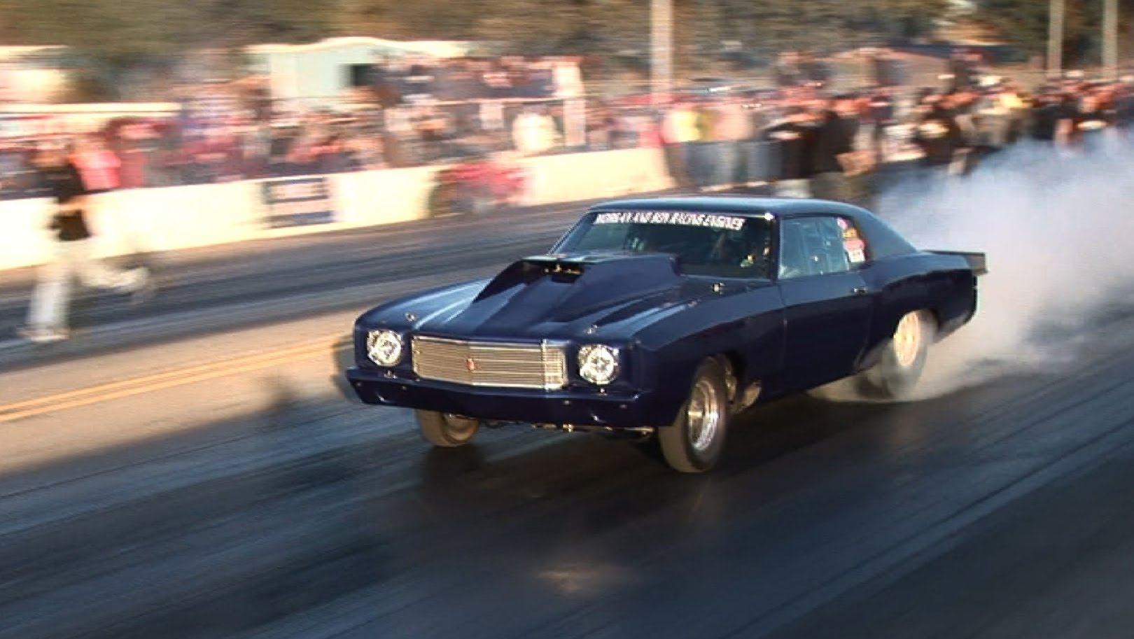 Mad Street Outlaw Drag Racing Action At OKC Big Tire No Prep Drag