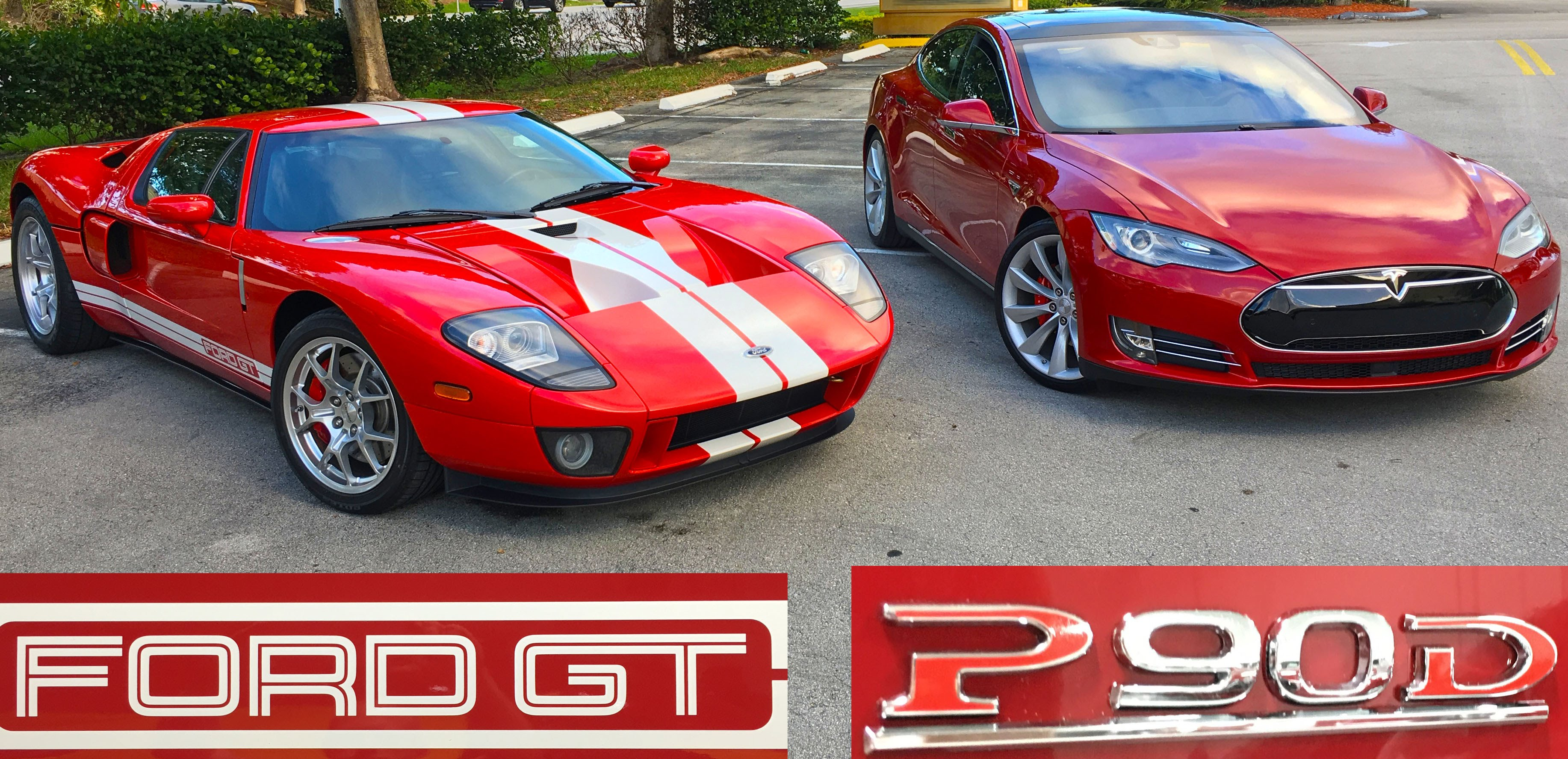 Model S Pd Demolished Ford Gt At The Start But Eventually The Ford Had Its Revenge