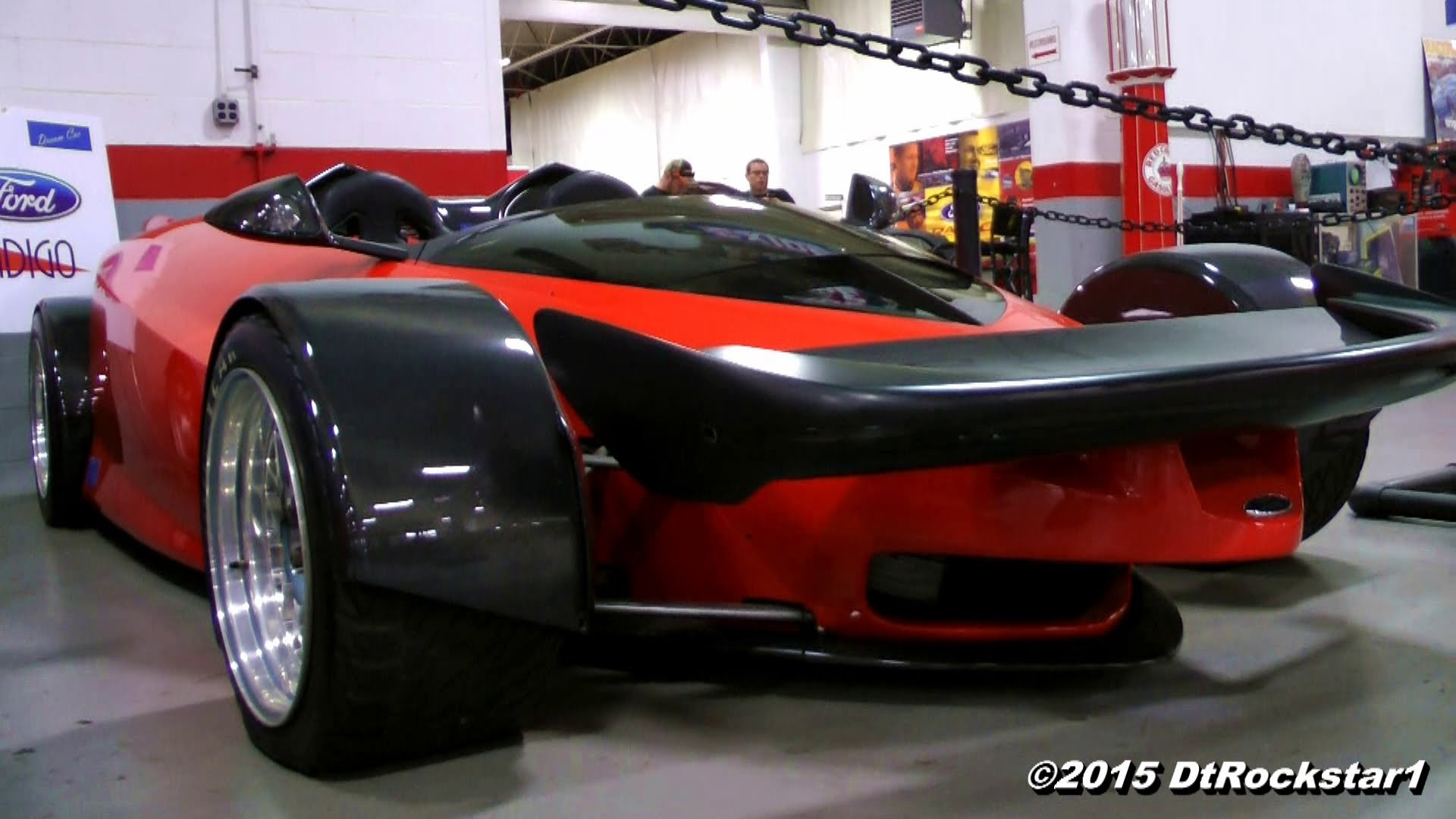 Very Rare Ford Indigo Concept Car Spotted Insanely Cool