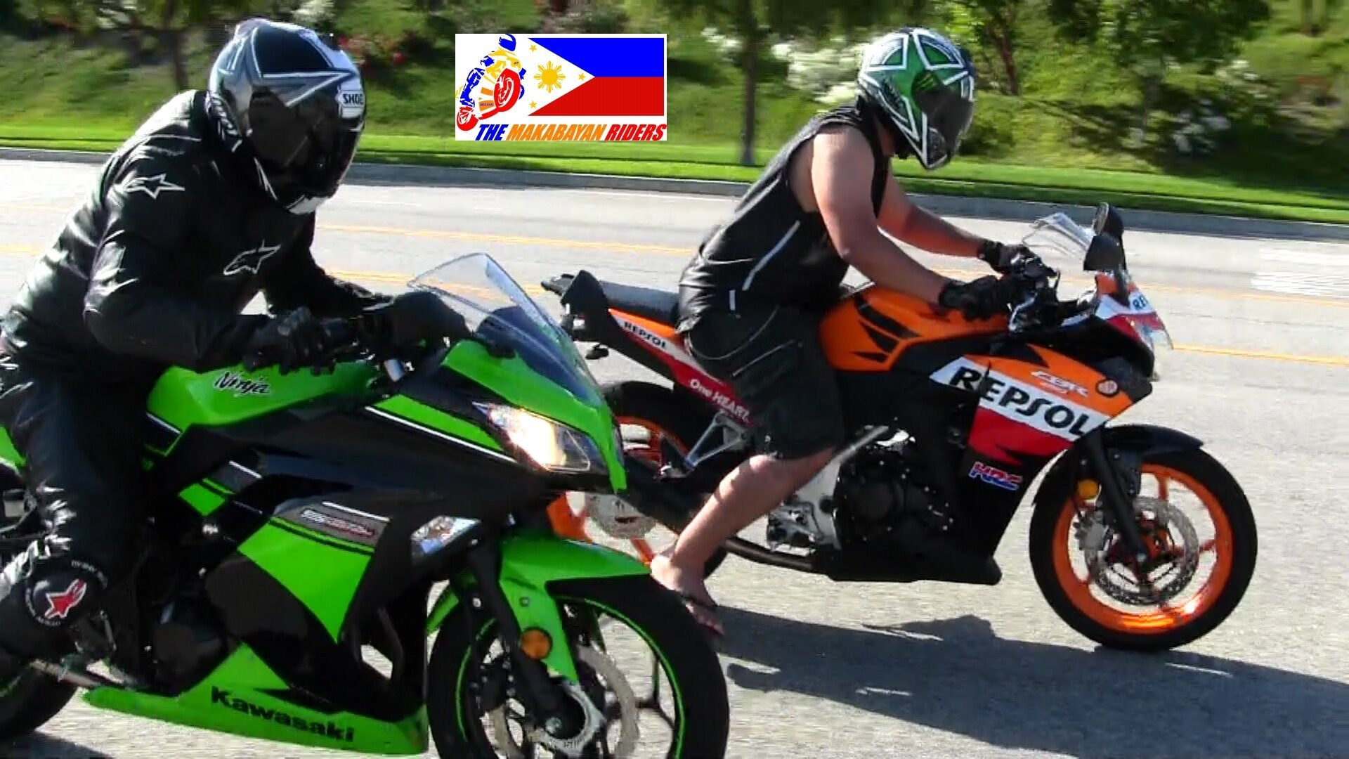 Who Is Actually Faster Kawasaki Ninja 300 Vs Honda Cbr250r