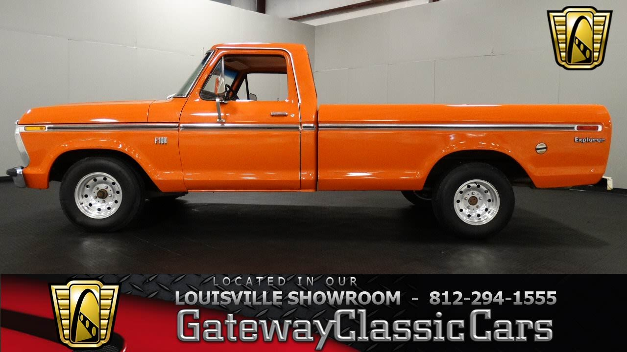 you gonna love this stunning 1973 ford f100 explorer pickup truck. Black Bedroom Furniture Sets. Home Design Ideas