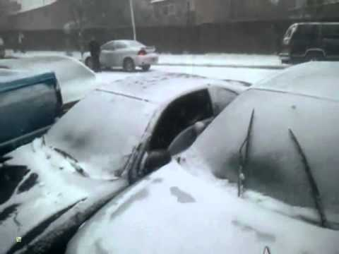 20 car pile up in a snowstorm is almost a funny thing to behold