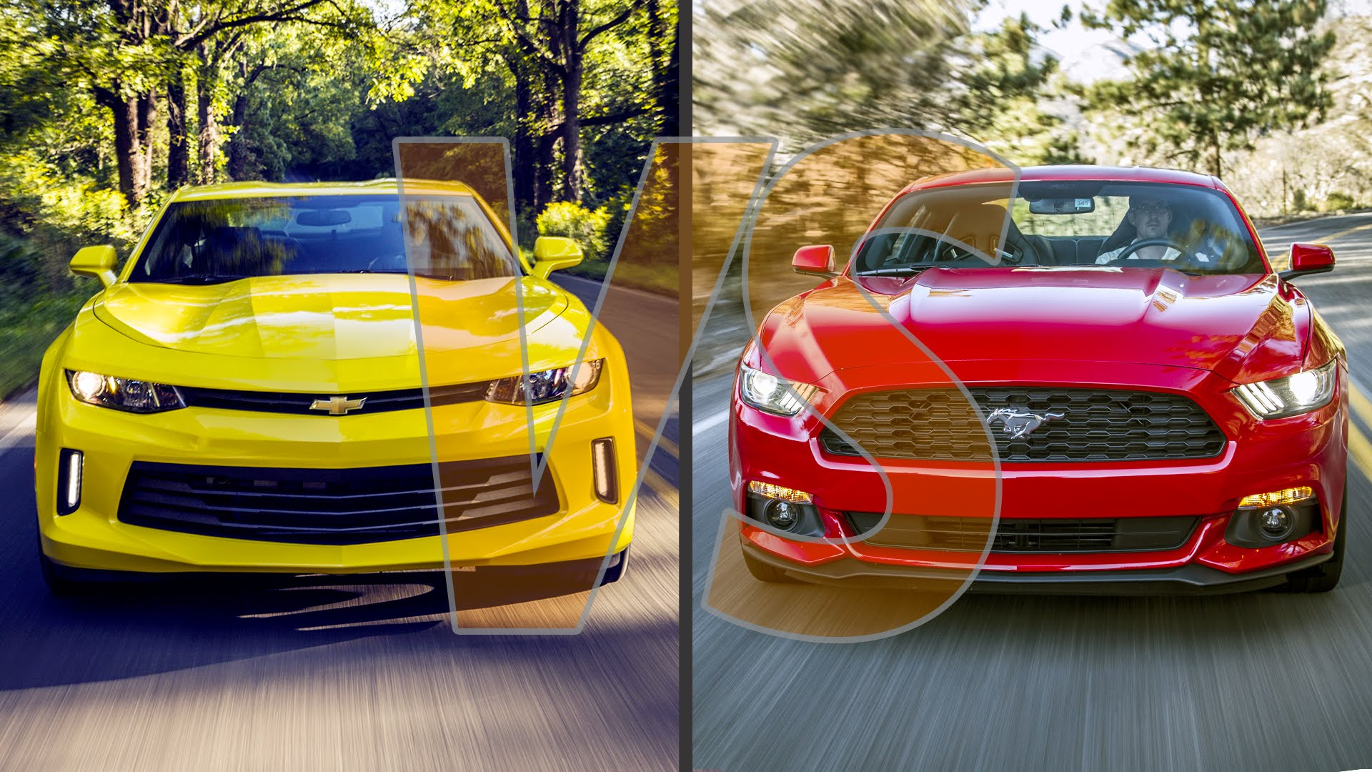 2016 chevrolet camaro vs 2016 ford mustang and which muscle car looks better. Black Bedroom Furniture Sets. Home Design Ideas