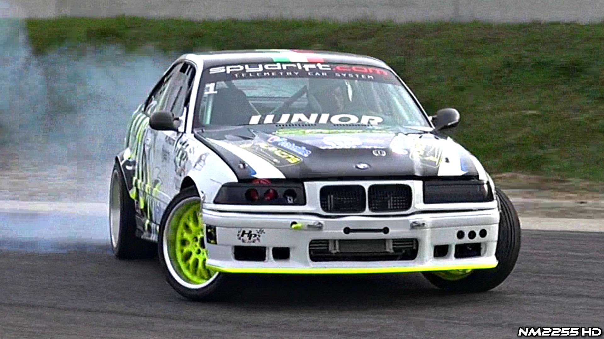 600+hp single turbo bmw m3 e36 knows how to drift