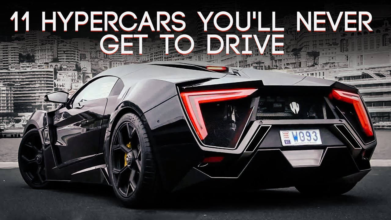 No U Will Never Drive These Hypercars Although U Really Really