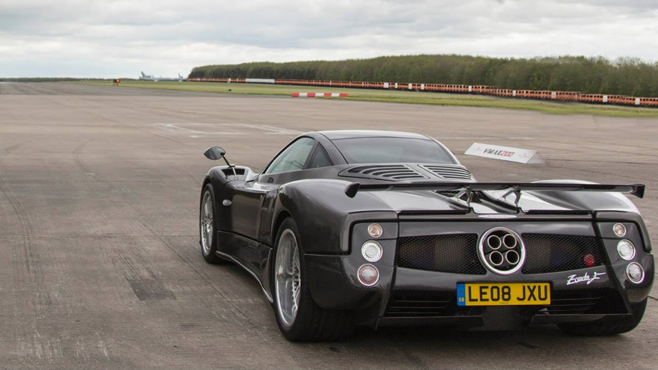 This Pagani Zonda F Is So Loud Your Ears Will Cry Tears Of Joy