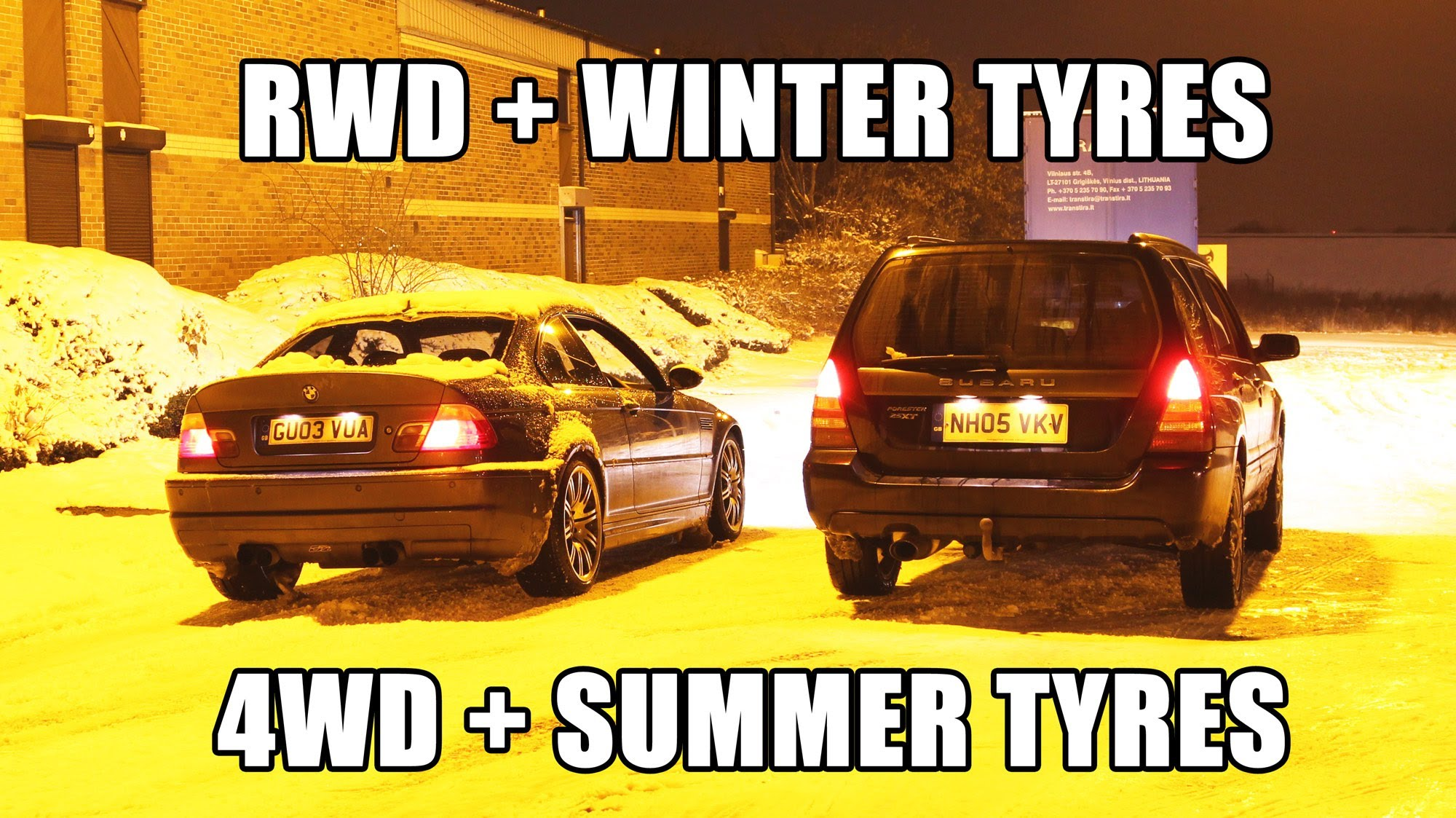 watch-a-bmw-m3-with-winter-tires-run-circles-around-a-subaru-forester-with-summer-rubber Amazing Ferrari Agostini Auto Junior Mondial Cabriolet Cars Trend