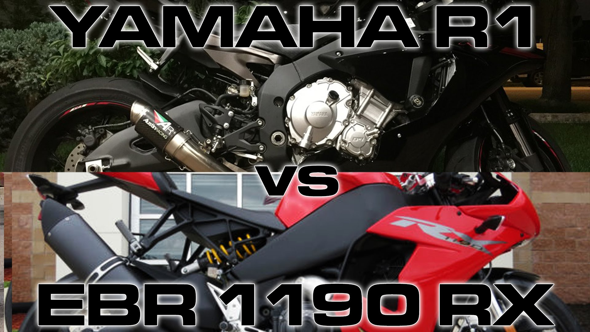 Clash Of The Superbikes: '15 Yamaha R1 And '14 EBR 1190RX Duel On The Streets