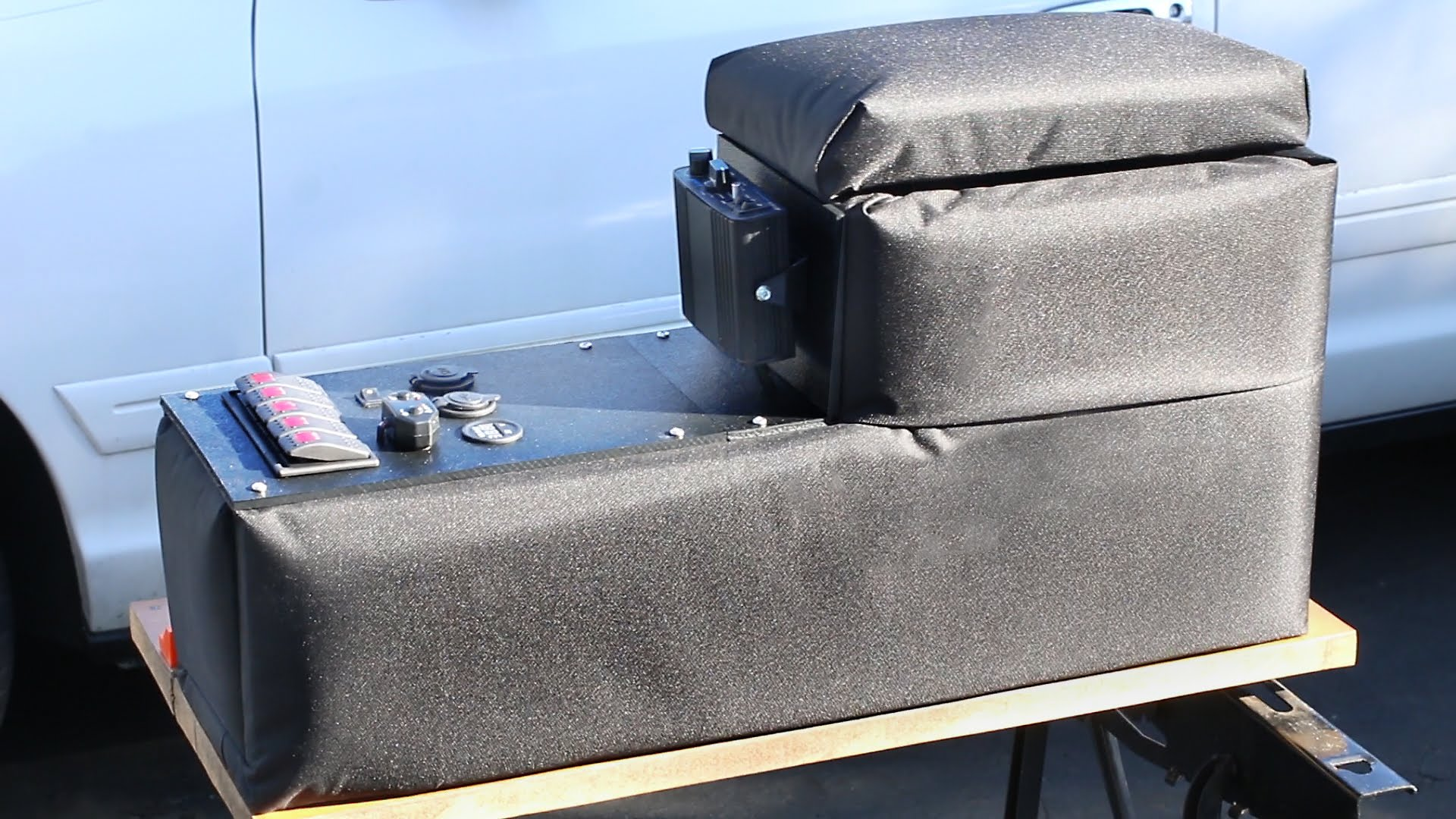 Learn How To Build A Center Console For Your Car With This