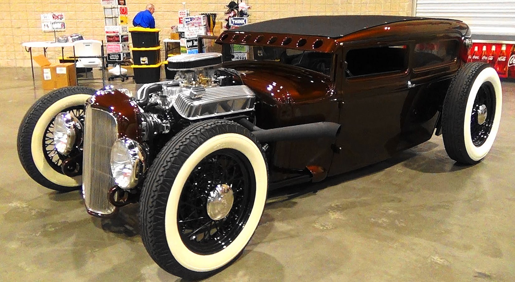 this 1930 ford model a sedan hot rod is one fine looking. Black Bedroom Furniture Sets. Home Design Ideas