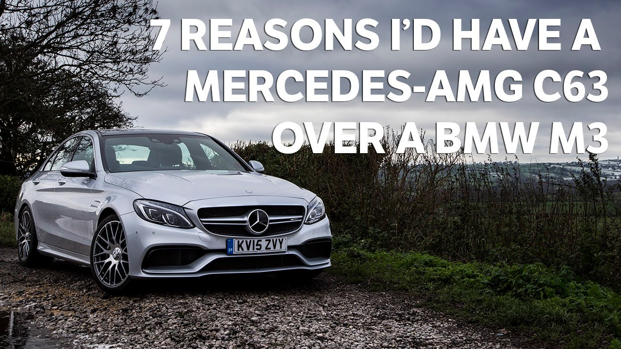 This Is Why The Mercedes AMG C63 Is Better Than The BMW M3