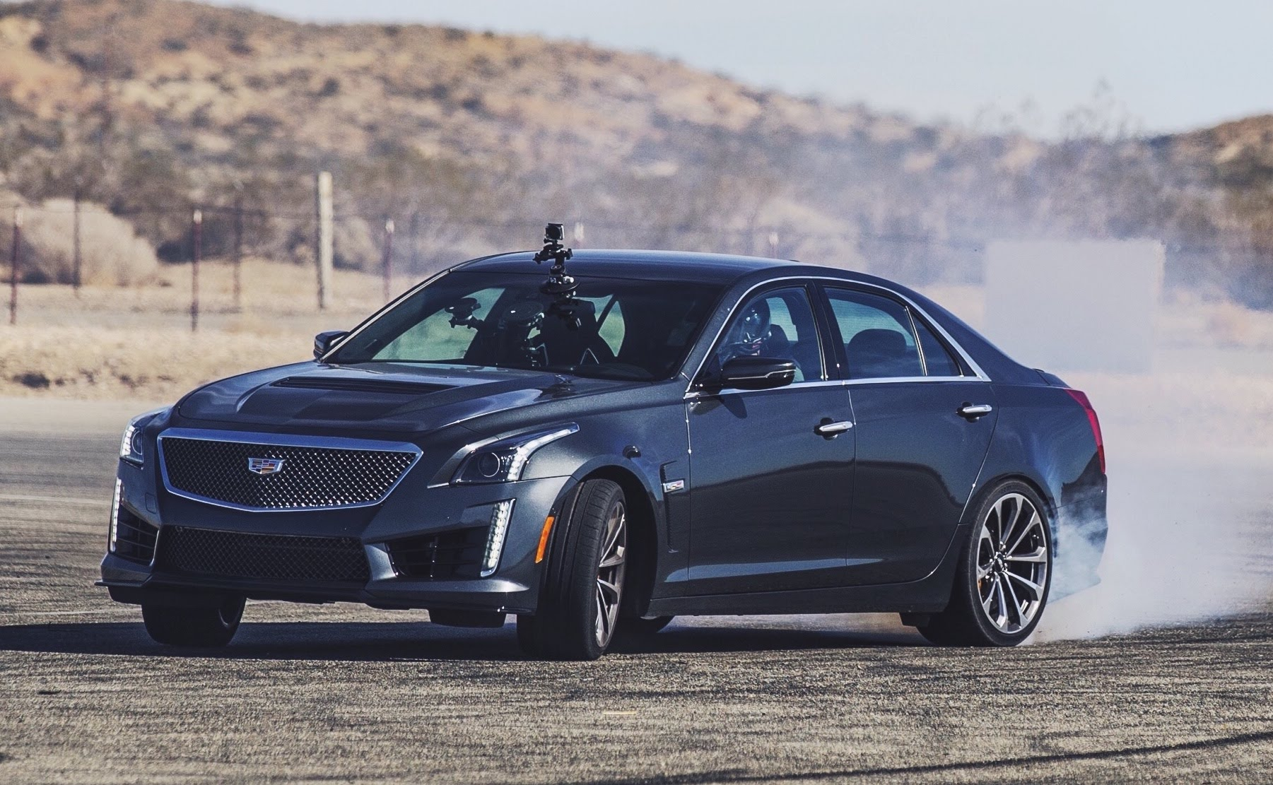 2016 cadillac cts v track test is this the best sedan on the market. Black Bedroom Furniture Sets. Home Design Ideas