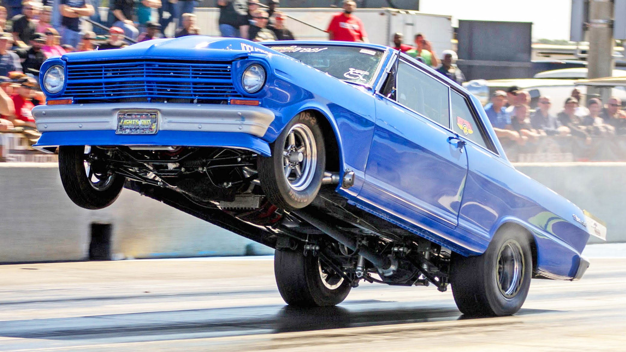 Check Out The Craziest Wheelies From Awesome Light 7 Drag Racing Event