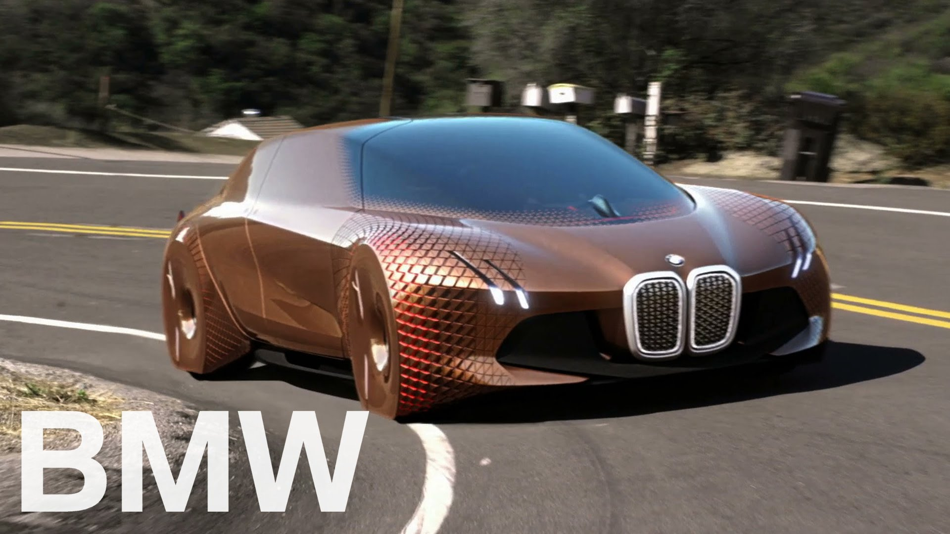 Bmw Presented Their Concept Car Called Vision Next 100 Is Out Of
