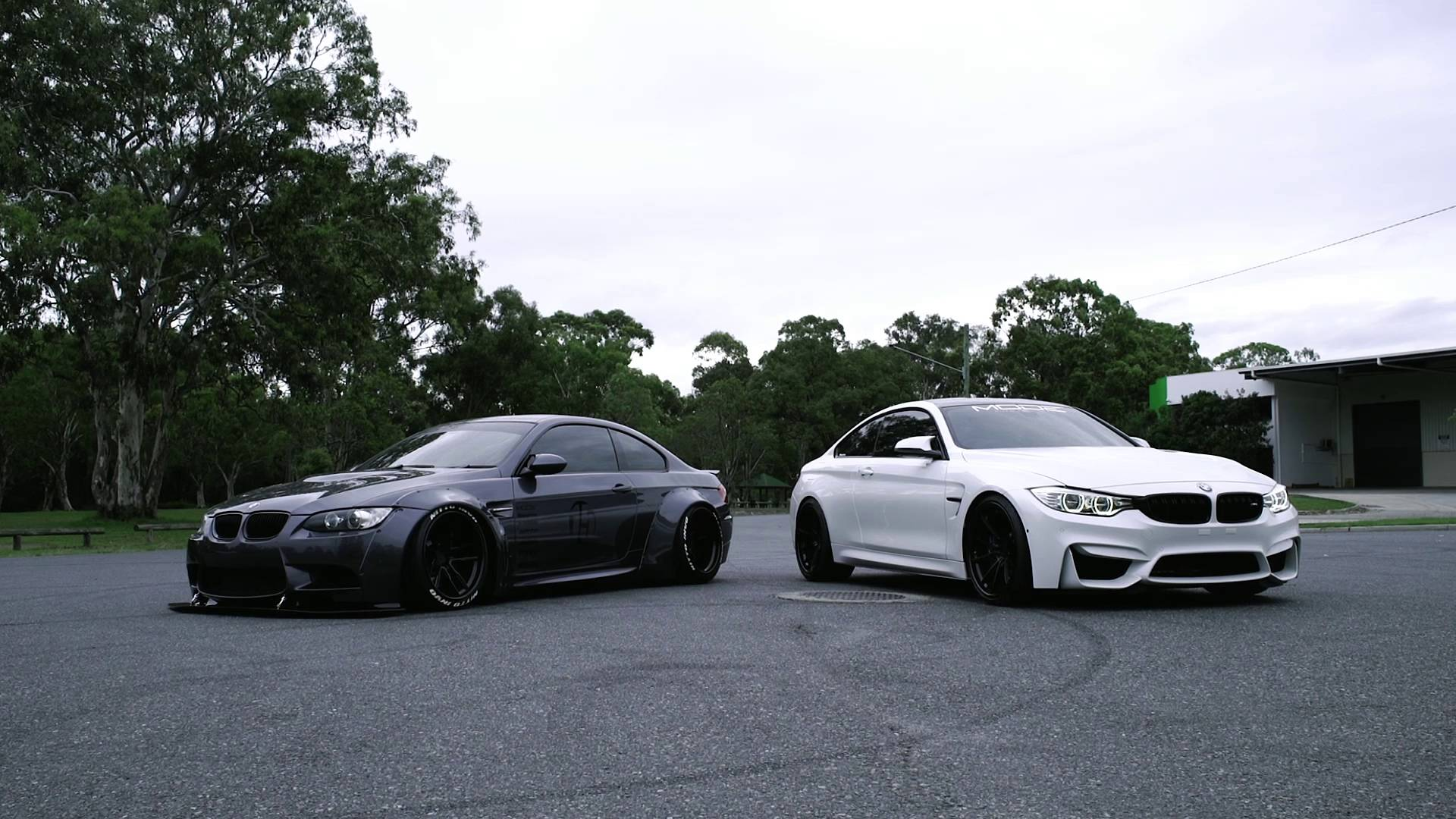 insane rev battle bmw e92 m3 vs bmw f82 m4. Black Bedroom Furniture Sets. Home Design Ideas