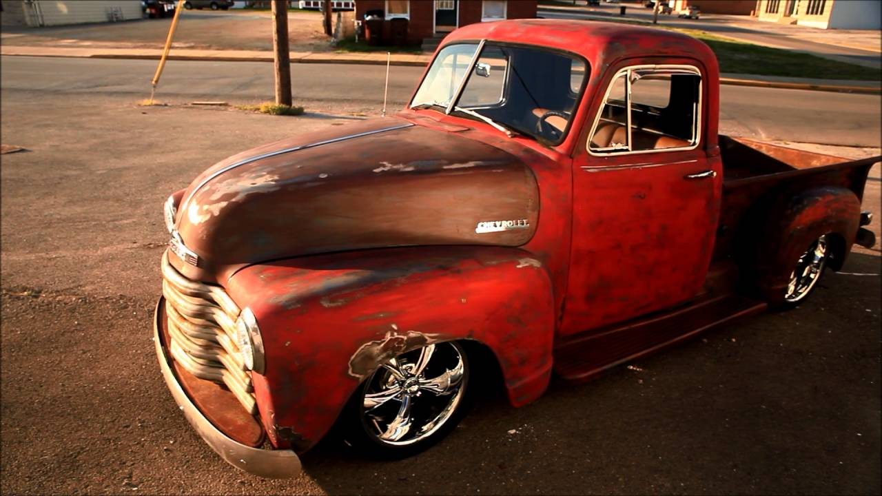Trucks Archives Page 9 Of 69 Legendarylist 1951 Chevrolet Dump Truck Rat Rod Pickup Has Just The Right