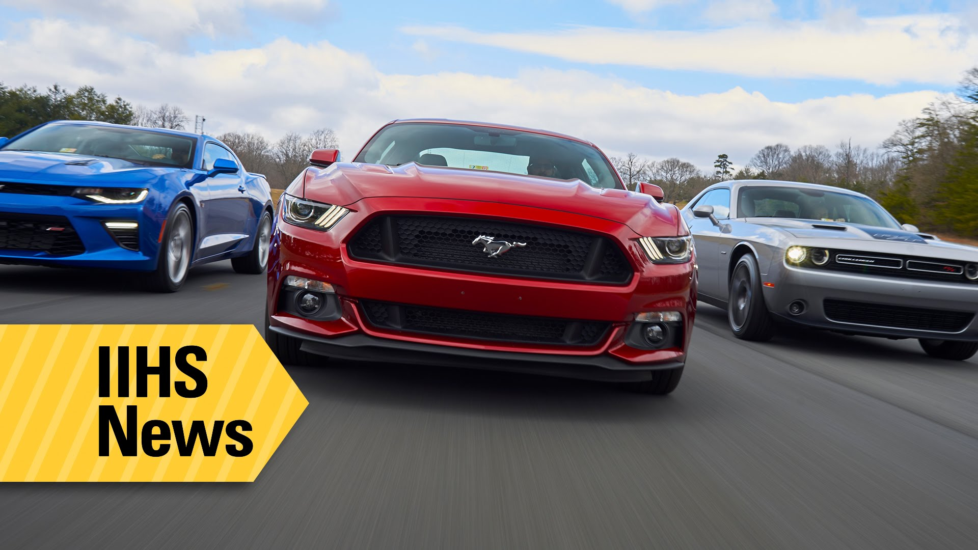 Find Out Which Is The Safest American Muscle Car On The Market
