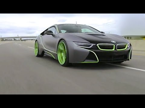 Is The Awesome BMW I The Future Of Supercars - Awesome bmw