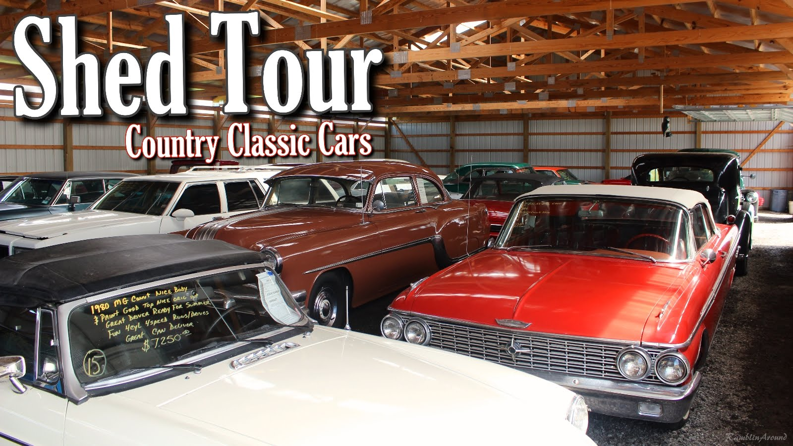 Do Not Miss This Awesome Country Classic Cars Shed Tour