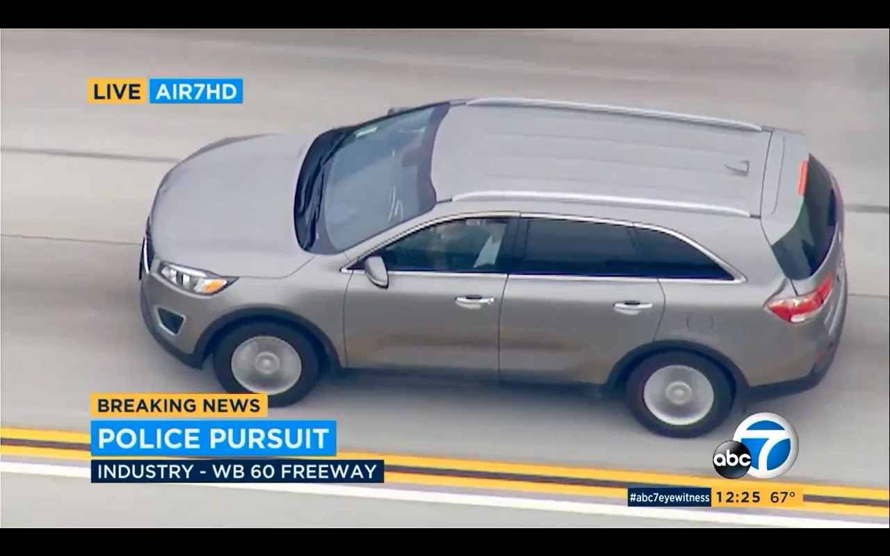 Do Not Miss This WILD Police Chase From Los Angeles