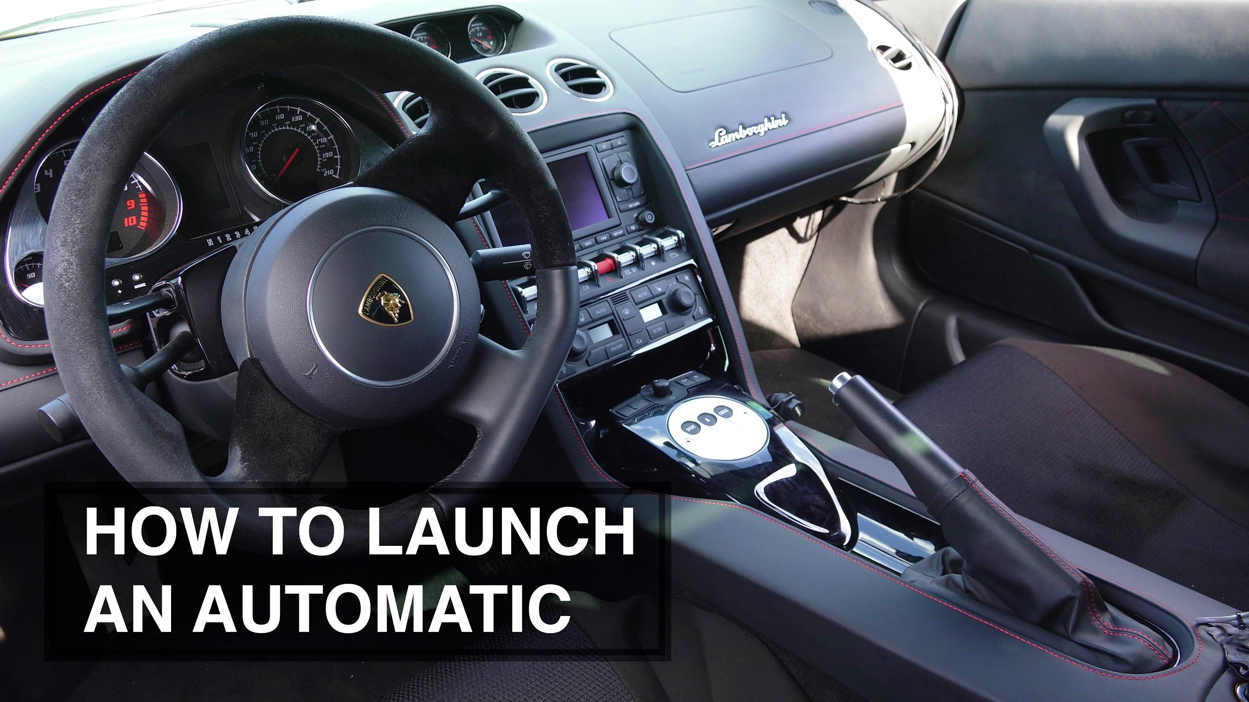 How To Launch An Automatic Transmission Car The Best Way
