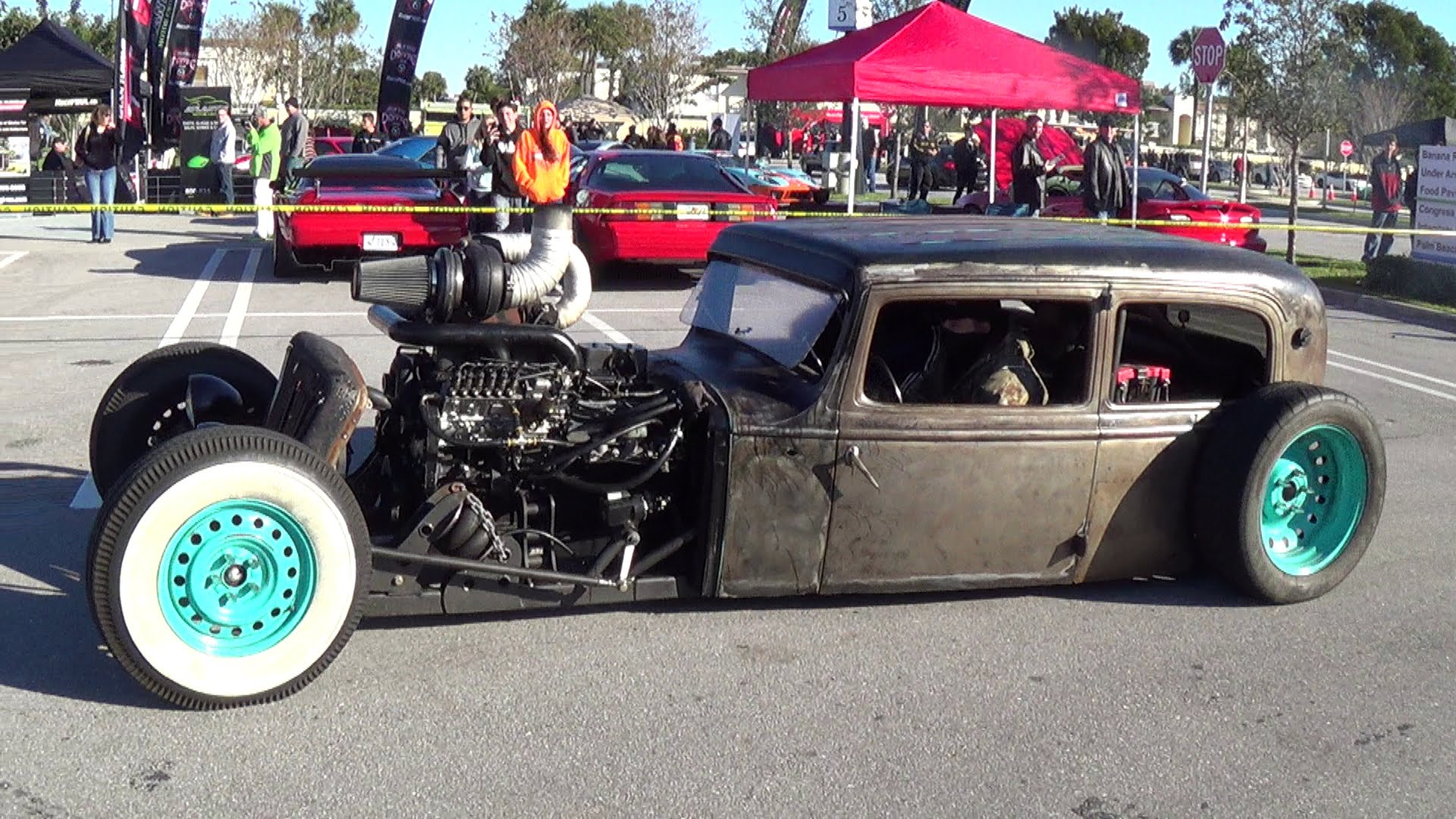 Insane Rat Rod Car Meet You Have To Check Out