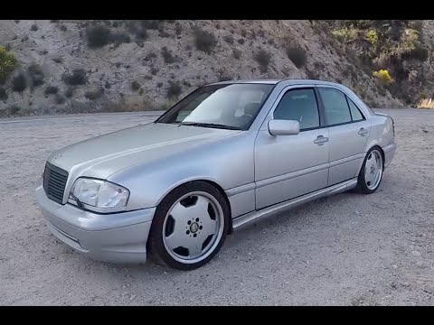 Mercedes C43 AMG With 5 5L Engine Swap Is The Ultimate Highway Cruiser