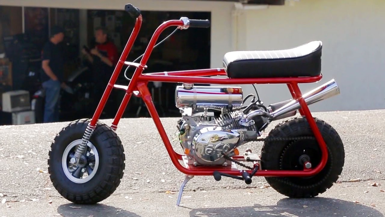 Cheap Muscle Cars For Sale >> Mini Bikes Are Back! Check Out This Awesome Taco Mini Bike!