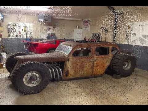 4×4 Van For Sale >> This Incredible 4x4 Rat Rod is Perfect Candidate For Mad Max!
