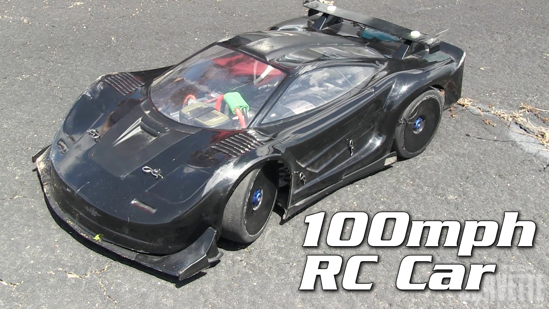 witness this stunning 100 mph rc car. Black Bedroom Furniture Sets. Home Design Ideas