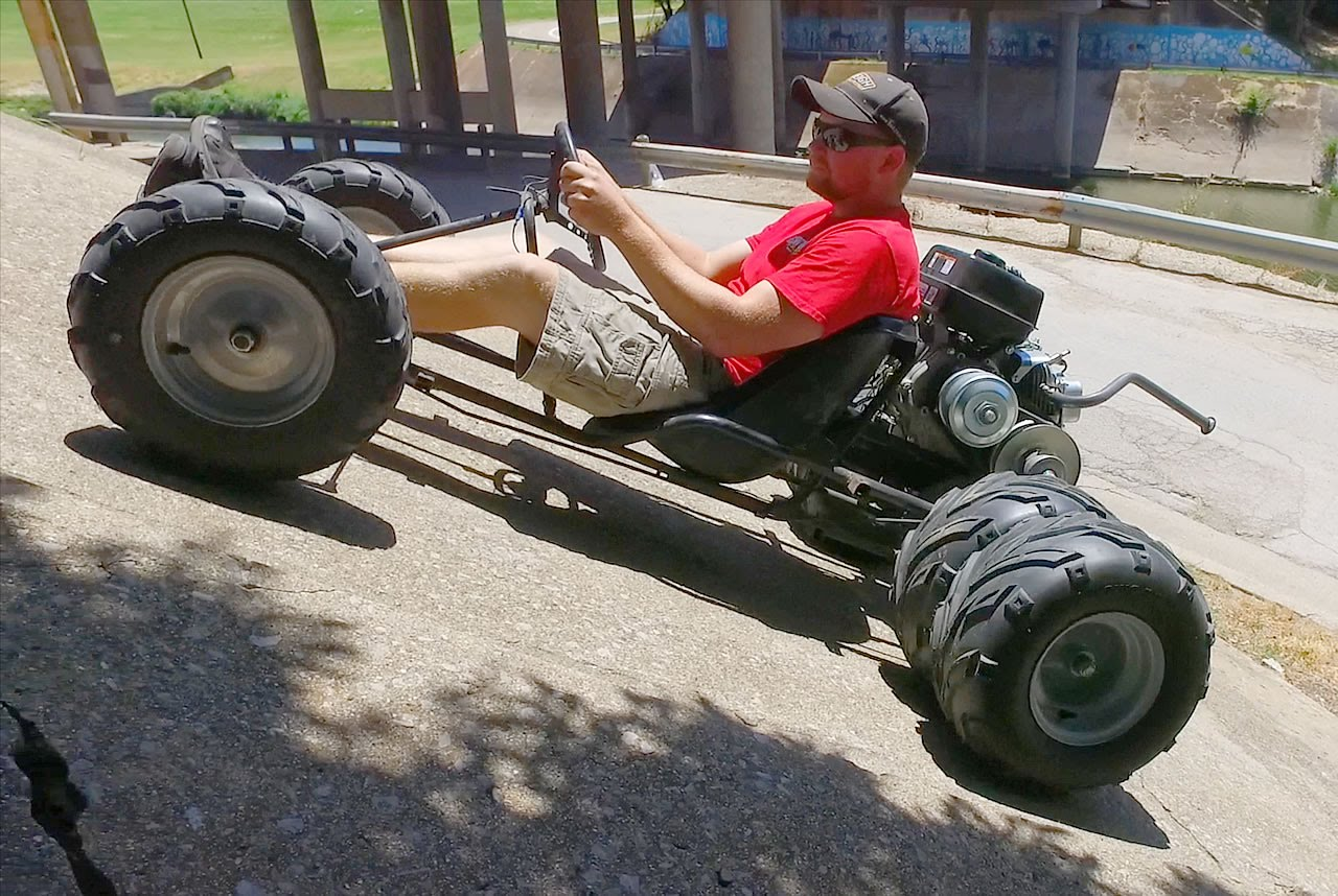 Custom Six Wheel Go Kart Dominates Off Road