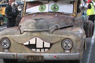 Watch Mater From Cars Perform A Real Life Epic Burnout